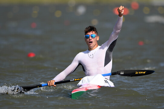 Kurucz és Rendessy is győzött, aranyeső K-1 1000 méteren