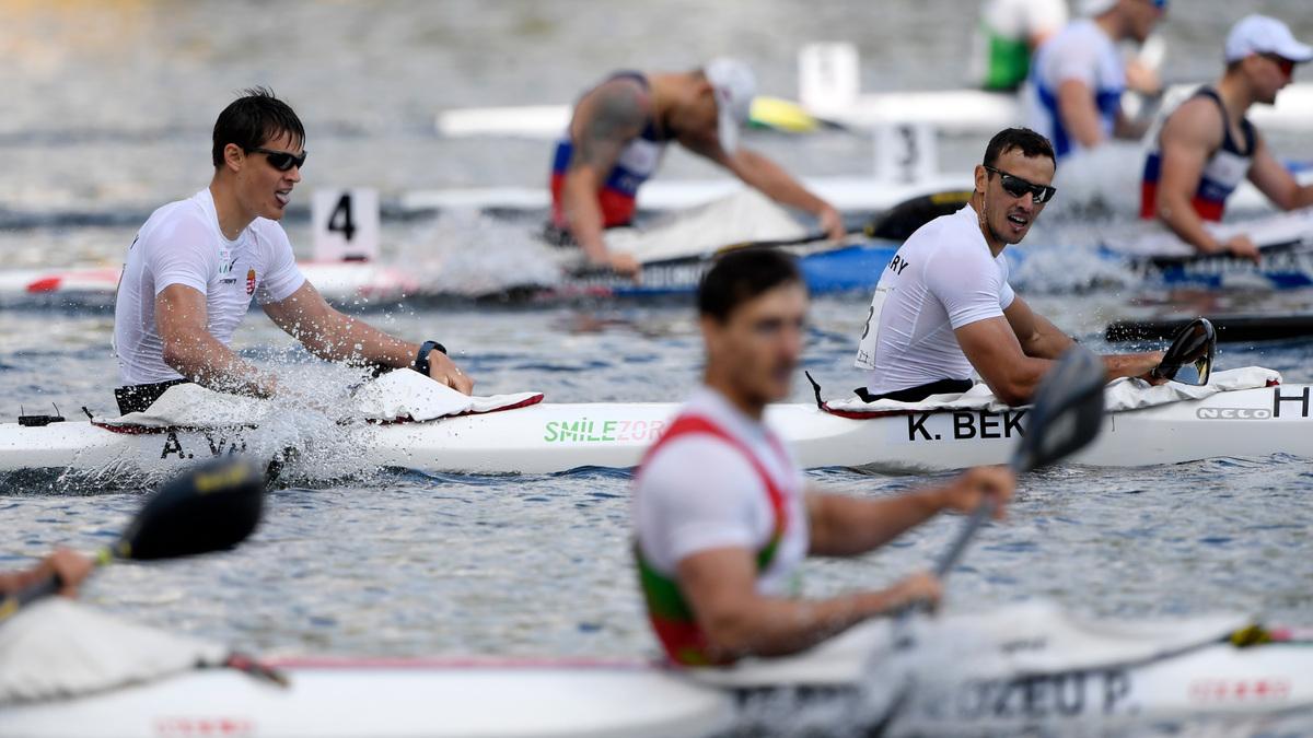 Szenzációs szereplés az olimpiai számokban