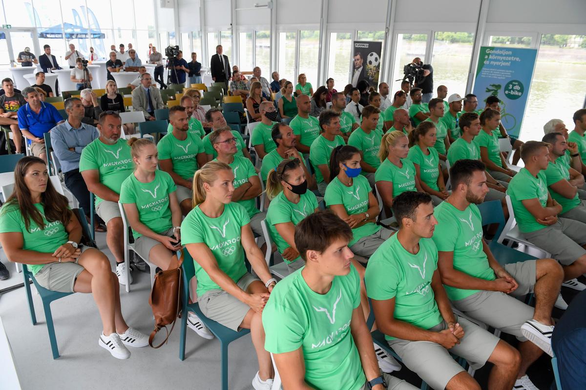 Bemutattuk az olimpiai csapatot