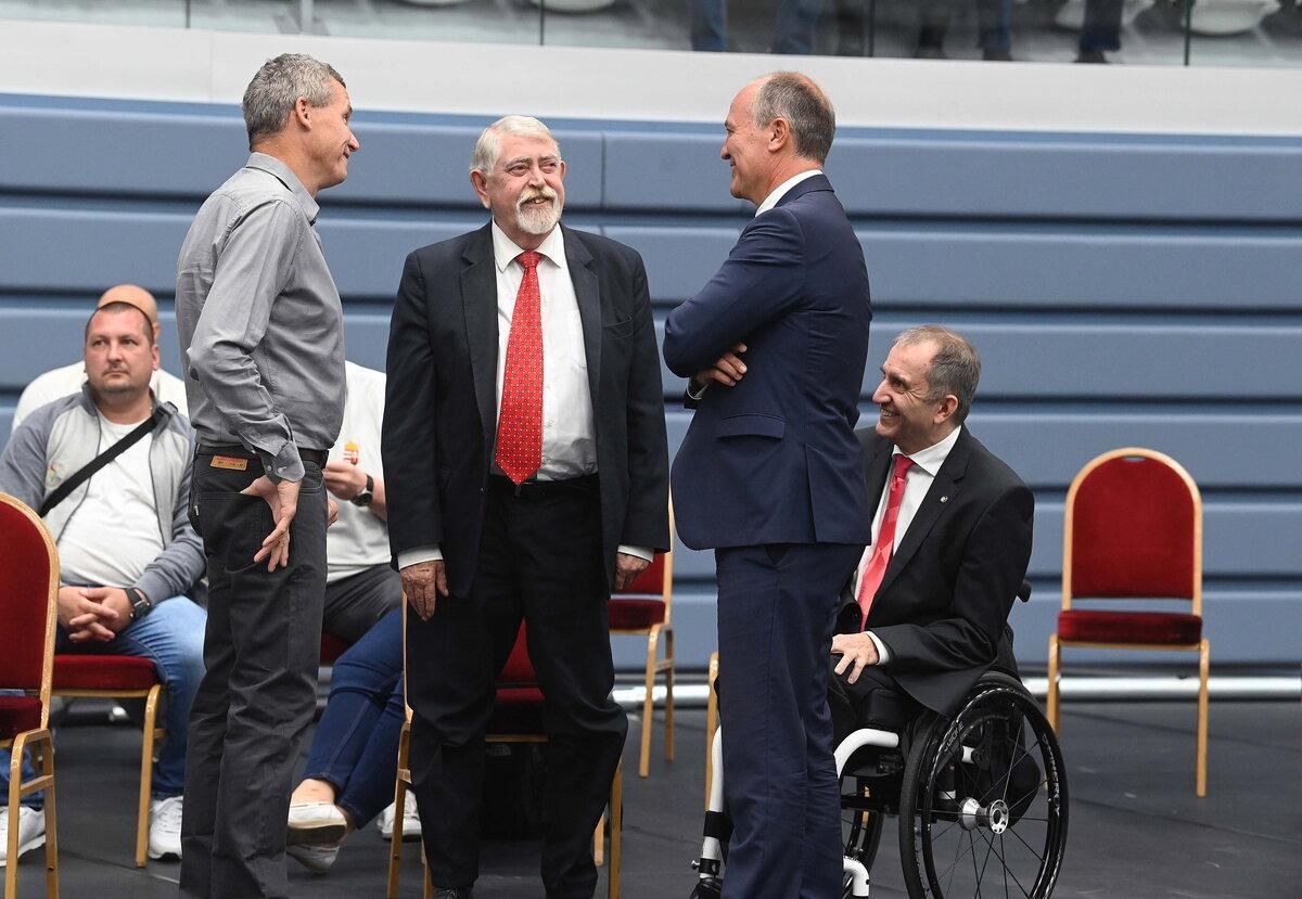 Ünnepélyes csapatgyűlésen fogadták paralimpikonjainkat