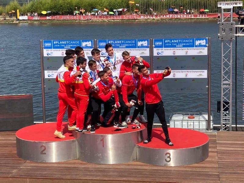 17 arannyal zártuk az ifi, U23 gyorsasági világbajnokságot