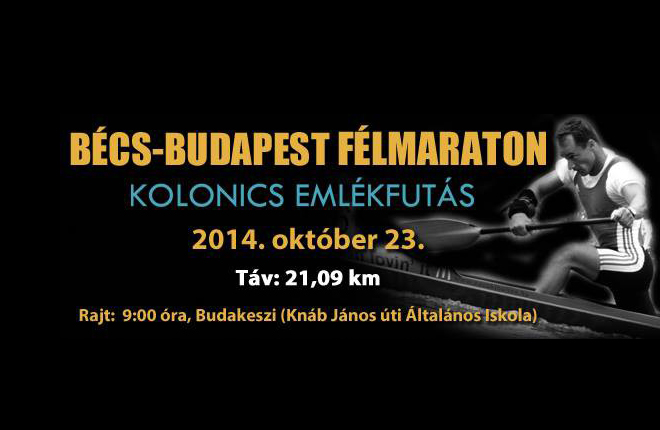 Bécs Budapest 2014 Kolonics Emlékfutás