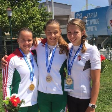 Szárnyaltak az ifik Belgrádban – sorozatban négy arany!