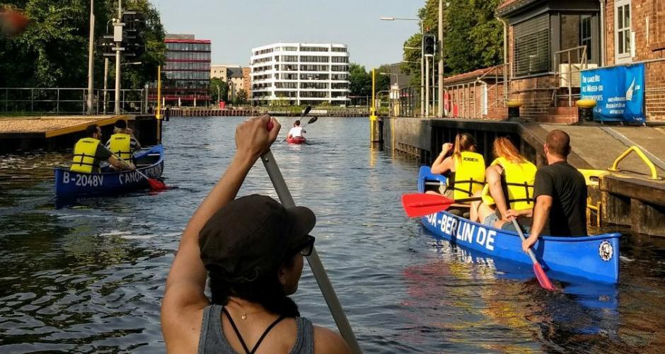 Berlin paddling – városnézés a vízről a német fővárosban