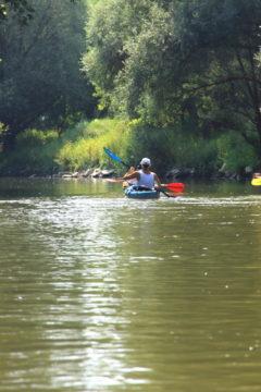 A vadregényes Ipoly folyó