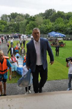 Orbán Viktor adta át a Tokaji Vízitúra Központot