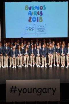 Letették az olimpiai esküt fiataljaink