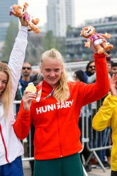 Rendessy Eszter ifjúsági olimpiai bajnok!