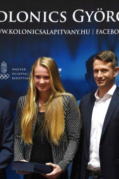 Rendessy Eszteré a Kolonics-díj – támogatást kapnak a fiatalok