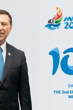 100 nap múlva rajtol az Európa Játékok