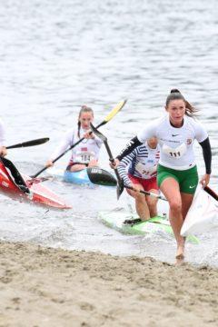 Bevették Norvégiát a magyar kajakos lányok