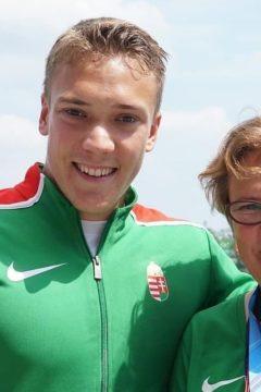 Bálint összeszedett, tudatos, mentálisan tökéletes – interjú Kopasz edző-édesanyjával