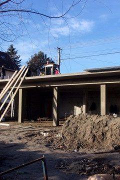 Jól halad az építkezés Szigetszentmiklóson